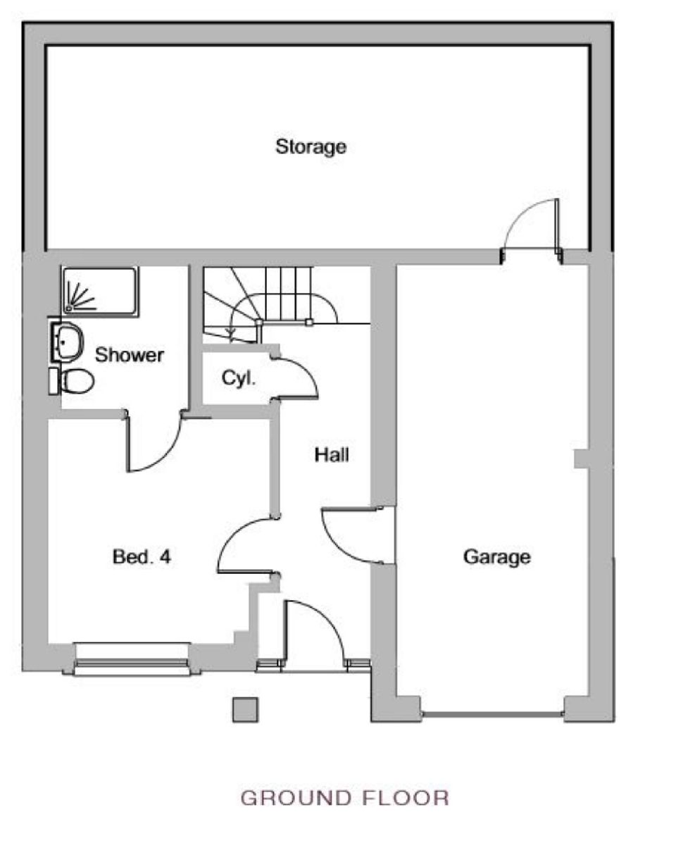 The Chartwell, Plot 6, Floorplan 3