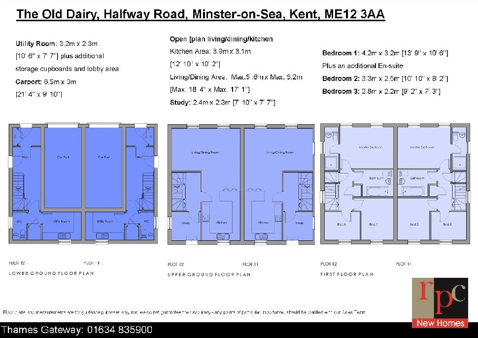The Old Dairy, 20 The Old Dairy, Floorplan 1