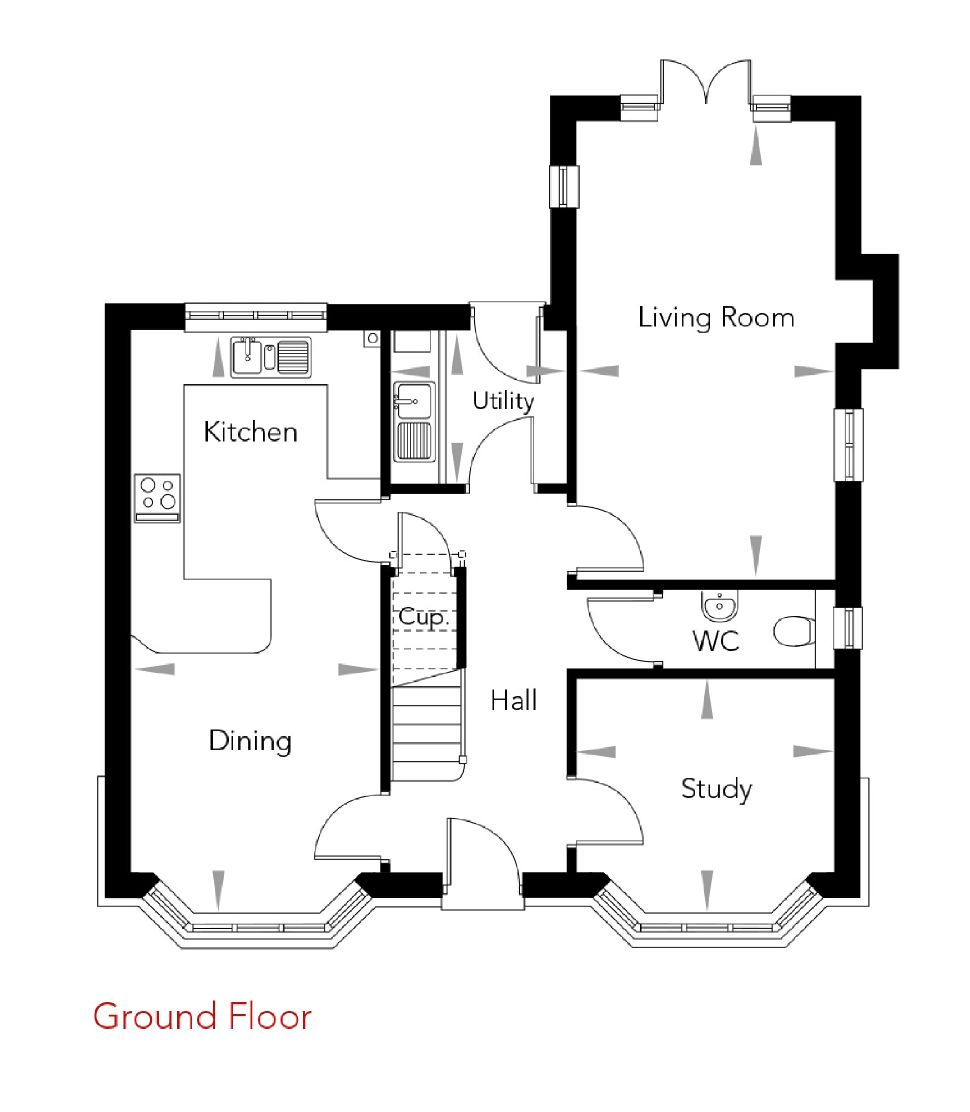 Penny Close, Plot 7, Floorplan 2