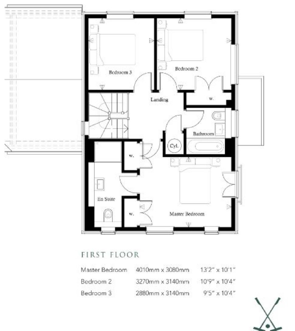 The Rolvenden At Polo Field, Home 5, Floorplan 2