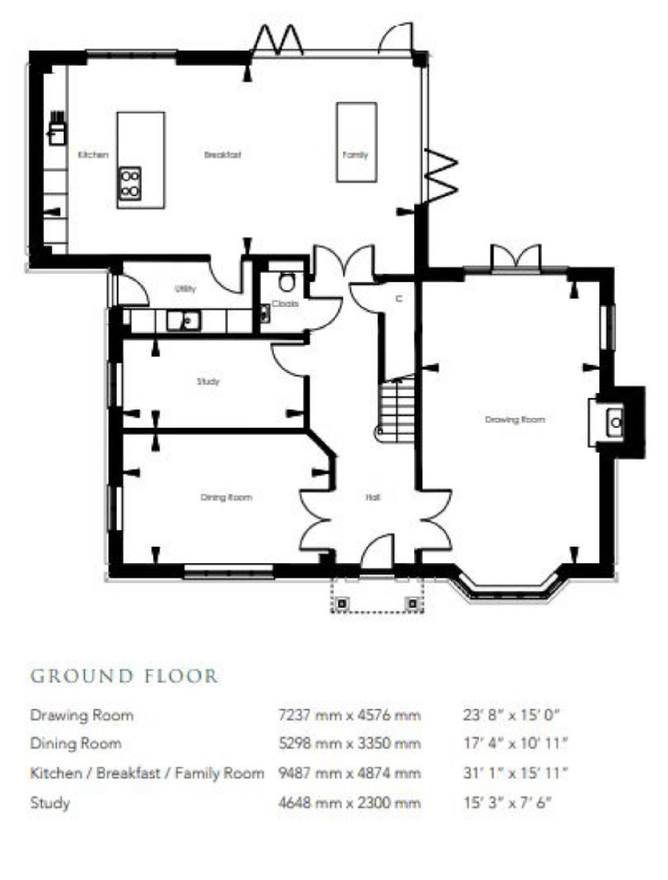 The Beaufort At Polo Field, Home 8, Floorplan 2