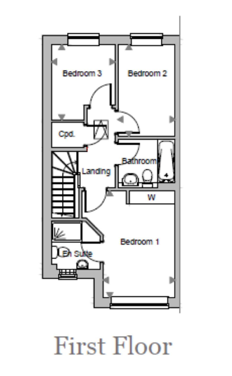 The Birch, Plot 23, Floorplan 2